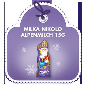 Milka Nikolo Alpenmilch 15g