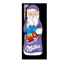 Milka Weihnachtsmann Alpenmilch 15g