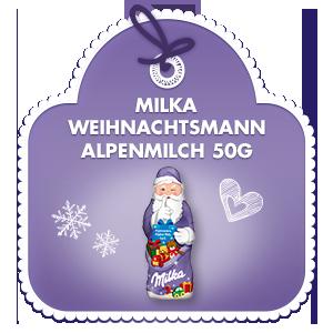 Milka Weihnachtsmann Alpenmilch 50g