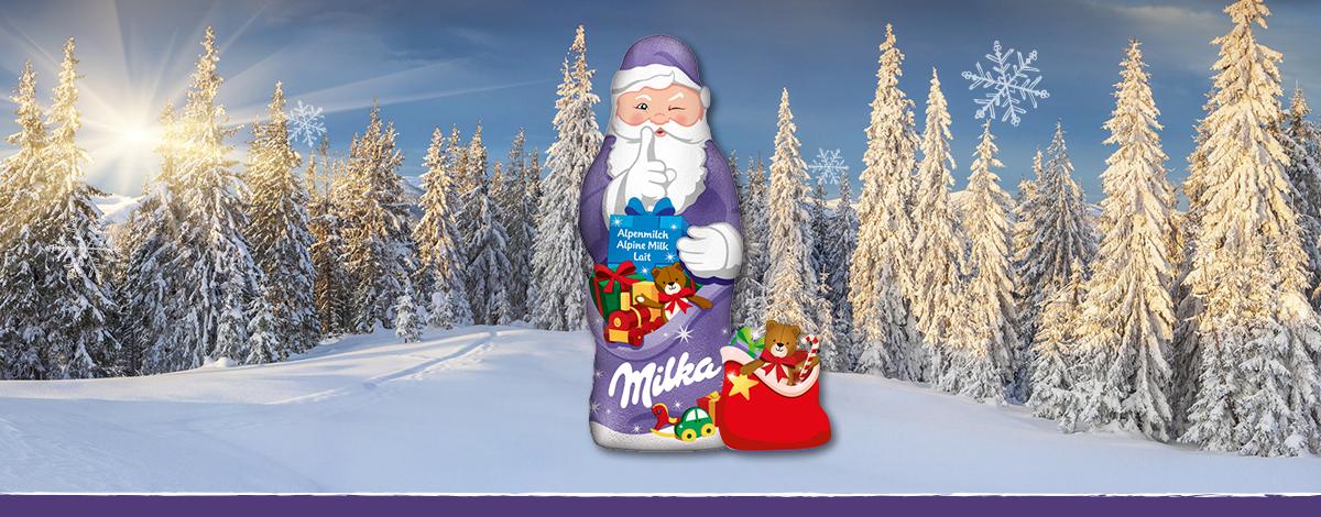 Milka Weihnachtsmann Alpenmilch 100g