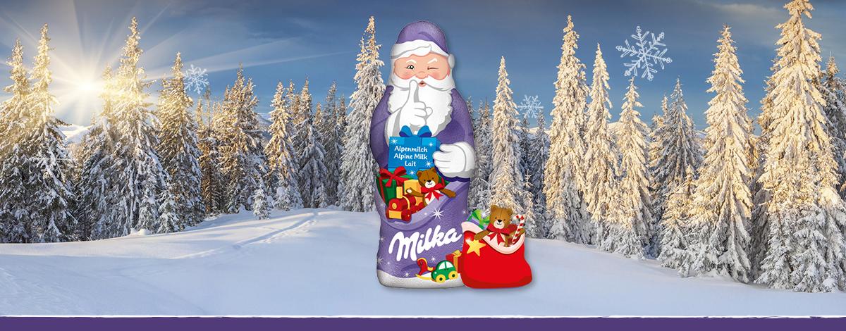 Milka Weihnachtsmann Alpenmilch 175g