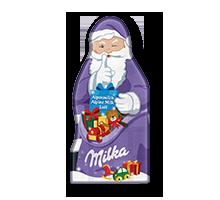 Milka Weihnachtsmann Tafel Alpenmilch 85g