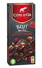 BRUT Chocolat Noir Noix de Pécan et cranberries