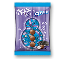 Milka Oreo rounds 86 g