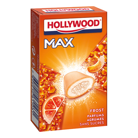 Chewing - gum - Hollywood Max Frost Agrumes Alt Mondelez Pro