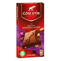 chocolat-cote-dor-bloc-lait-raisins-noisettes