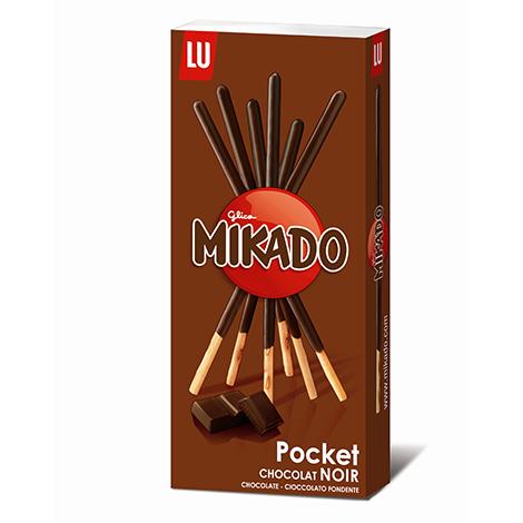 Biscuits - Gateaux - Mikado pocket chocolat noir 75g Alt Mondelez Pro