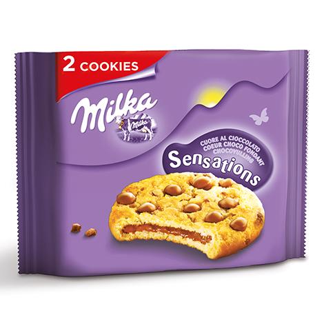 Biscuits - Gateaux - Milka cookies sensations 52g Alt Mondelez Pro