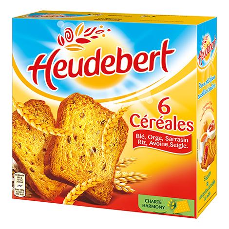 Biscuits - Gateaux - Heudebert 6 céréales Alt Mondelez Pro