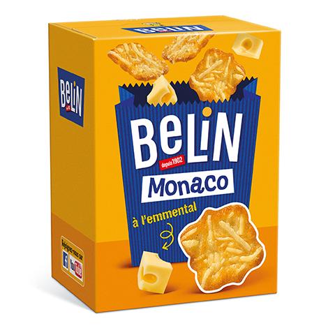 Biscuits - Gateaux - Crackers Belin Monaco à l'emmental 50g Alt Mondelez Pro