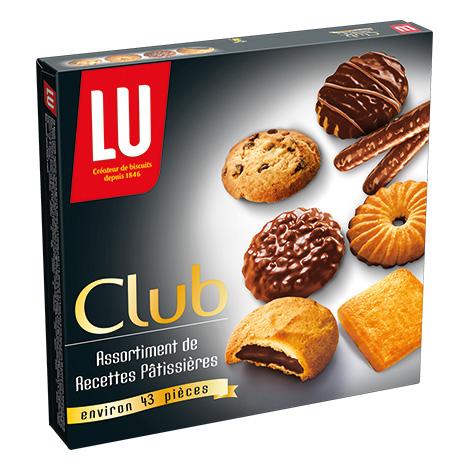 Biscuits - Gateaux - LU Assortiment Sucré Club Alt Mondelez Pro
