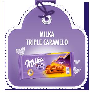 MILKA TRIPLE CARAMELO