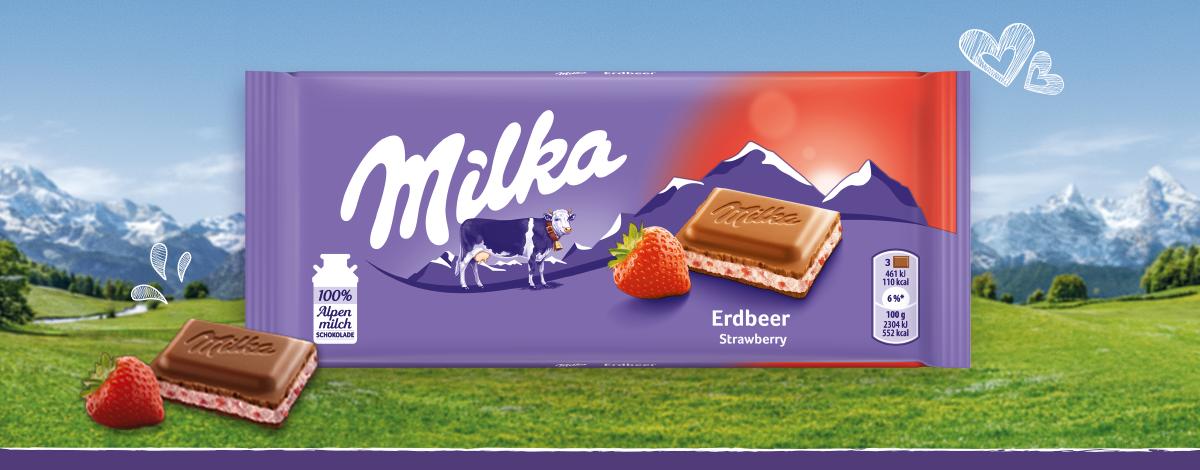 Milka Erdbeer
