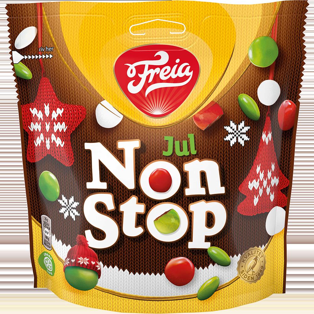 Freia Non Stop Jul (400 g)