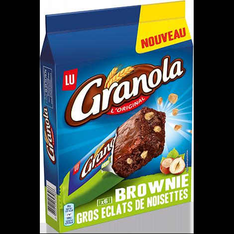 Biscuits - Gateaux - Granola Brownie Eclats de Noisettes 180g Alt Mondelez Pro