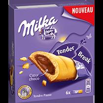 Biscuits - Gateaux - Milka Tender Cœur Choco 156g | Mondelez Pro