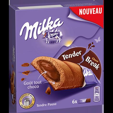 Biscuits - Gateaux - Milka Tender Cœur Choco 156g Alt Mondelez Pro