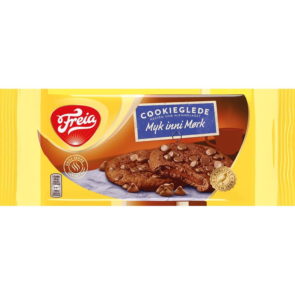 Freia Cookieglede Myk Inni Mørk (182 g)