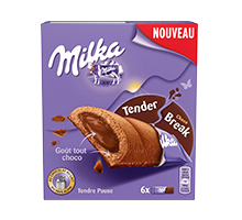 MILKA BARRE TENDER BREAK TOUT CHOCO