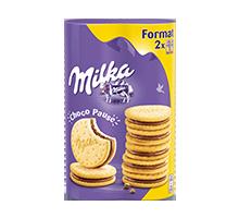 MILKA CHOCO PAUSE FORMAT X2