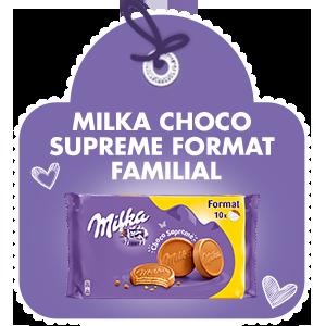 MILKA CHOCO SUPREME FORMAT FAMILIAL