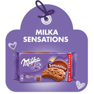 MILKA COOKIE SENSATIONS CHOCOBROWNIE