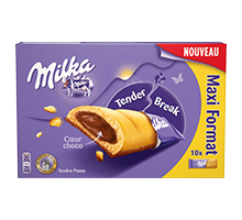 MILKA BARRE TENDER BREAK FORMAT FAMILIAL