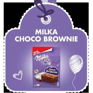 MILKA CHOCO BROWNIE FORMAT INDIVIDUEL