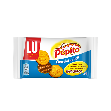 Biscuits - Gateaux - Pepito Emochoco Lait 38,4g Alt Mondelez Pro