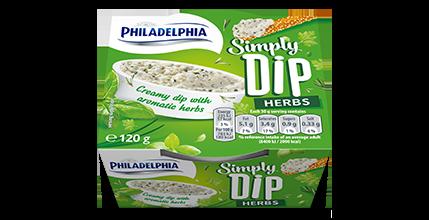 Philadelphia Simply Dip Herbs