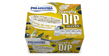 Philadelphia Simply Dip Olives