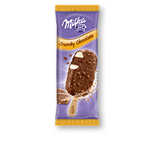 Milka Crunchy Chocolate Stieleis 110ml