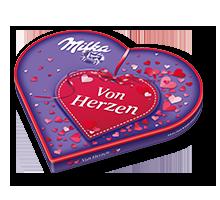 """I Love Milka 187g Muttertag """"Von Herzen"""""""