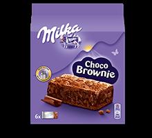 MILKA CHOCO BROWNIES