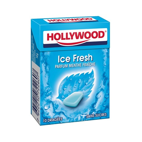 Chewing-gum - Hollywood Ice Fresh menthe fraîche Alt Mondelez Pro