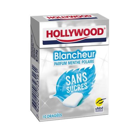 Chewing-gum - Hollywood Blancheur sans sucres menthe polaire Alt Mondelez Pro