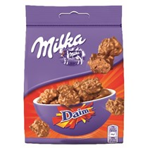 Chocolat - Milka Snax Daim 145g