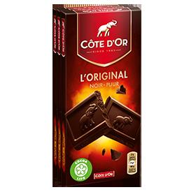 L'ORIGINAL Noir 3x100g