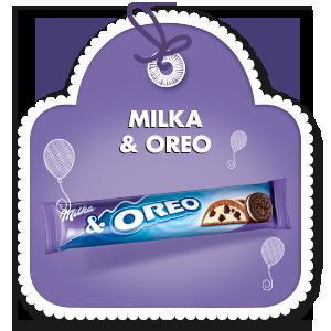 MILKA & OREO 37 g