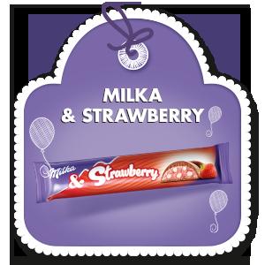 MILKA & STRAWBERRY 36.5 g