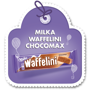 MILKA WAFFELINI CHOCOMAX 31 g