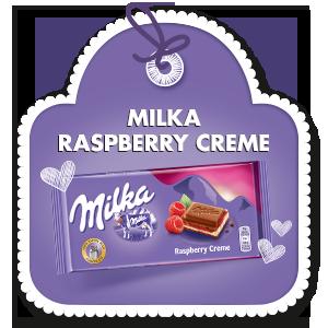 MILKA RASPBERRY CREME 100 g