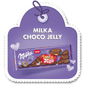 MILKA CHOCO JELLY 250 g