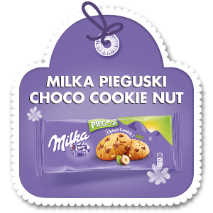 MILKA PIEGUSKI CHOCO COOKIE NUT 135 g