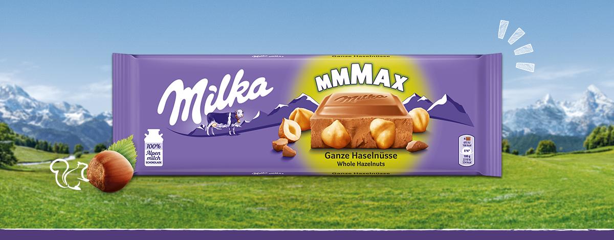 Milka Mmmax Ganze Haselnüsse