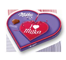 I love Milka Geschenkherz 187g