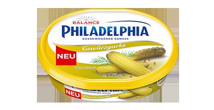 Philadelphia Gewürzgurke Balance