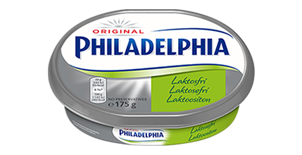 Philadelphia Laktoositon Original 175g