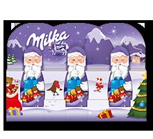 Milka Weihnachtsmann Alpenmilch 3x15g