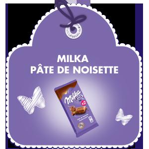 Milka Pâte de noisette